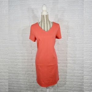 Old Navy | Coral V-Neck Dress